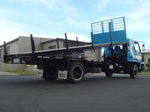 Flat deck and tipper body types from Boss Motorbodies
