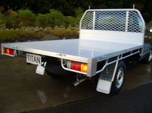 Titan ute deck body types from Boss Motorbodies